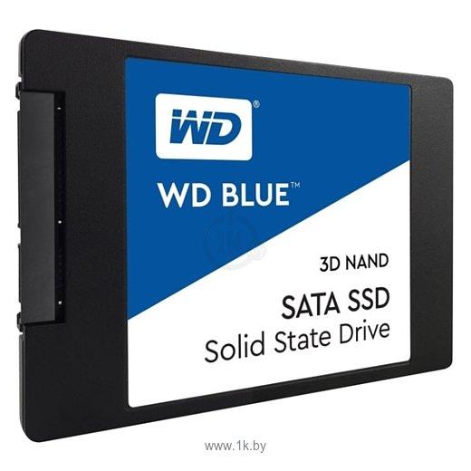 Фотографии Western Digital WD BLUE 3D NAND SATA SSD 500 GB (WDS500G2B0A)