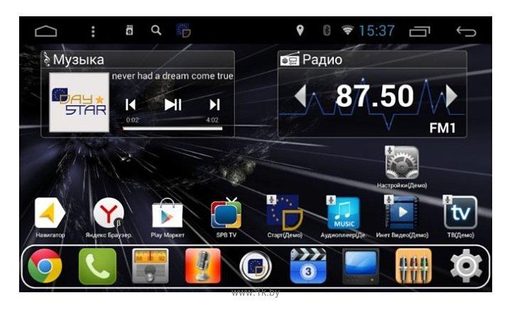 """Фотографии Daystar DS-7087HB Renault Kaptur (климат контроль) 9"""" Android 7"""