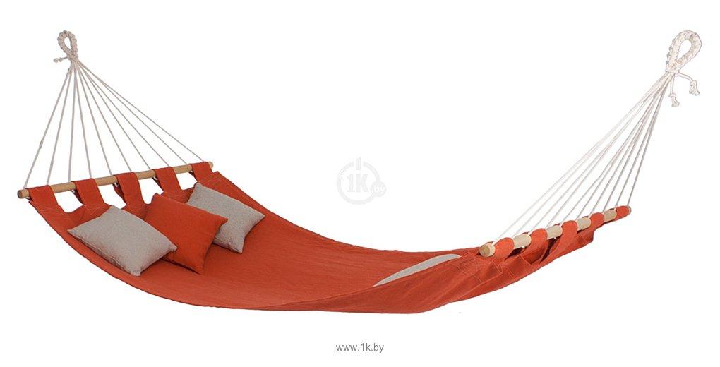 Фотографии Гамак-Бай Цветной лен с брусками