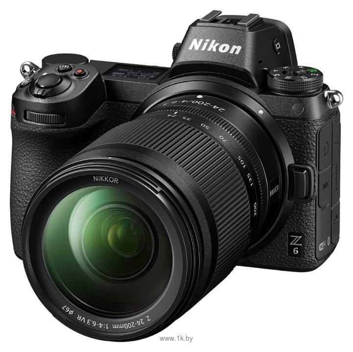 Фотографии Nikon 24-200mm f/4-6.3 VR Nikkor Z