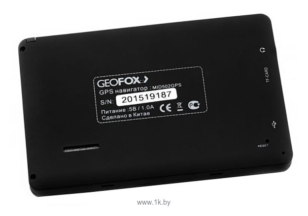 Фотографии GEOFOX MID 502GPS