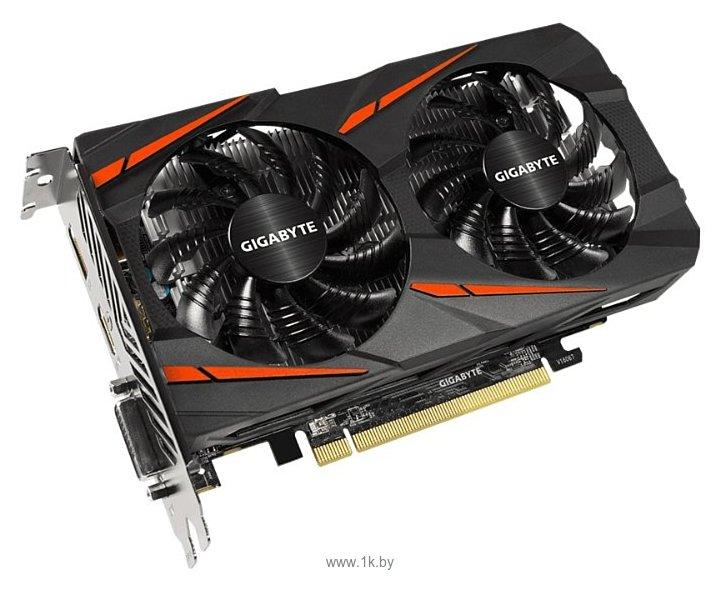 Фотографии GIGABYTE Radeon RX 560 1234MHz PCI-E 3.0 4096MB 7000MHz 128 bit DVI HDMI HDCP Gaming OC (rev. 2.0)
