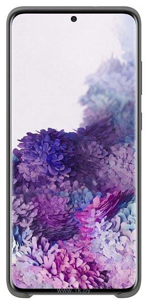 Фотографии Samsung Silicone Cover для Galaxy S20+ (серый)