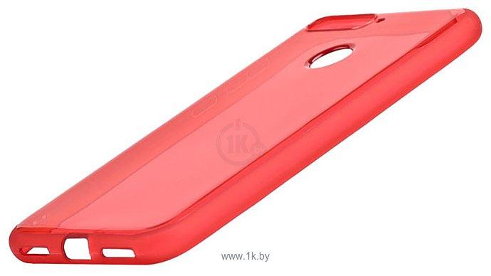 Фотографии EXPERTS TPU Case №3 для Huawei Y6 Prime (2018)/Honor 7C/7A Pro (красный)