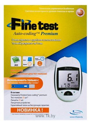 Фотографии Infopia Finetest Auto-Coding Premium (+25 тест-полосок)