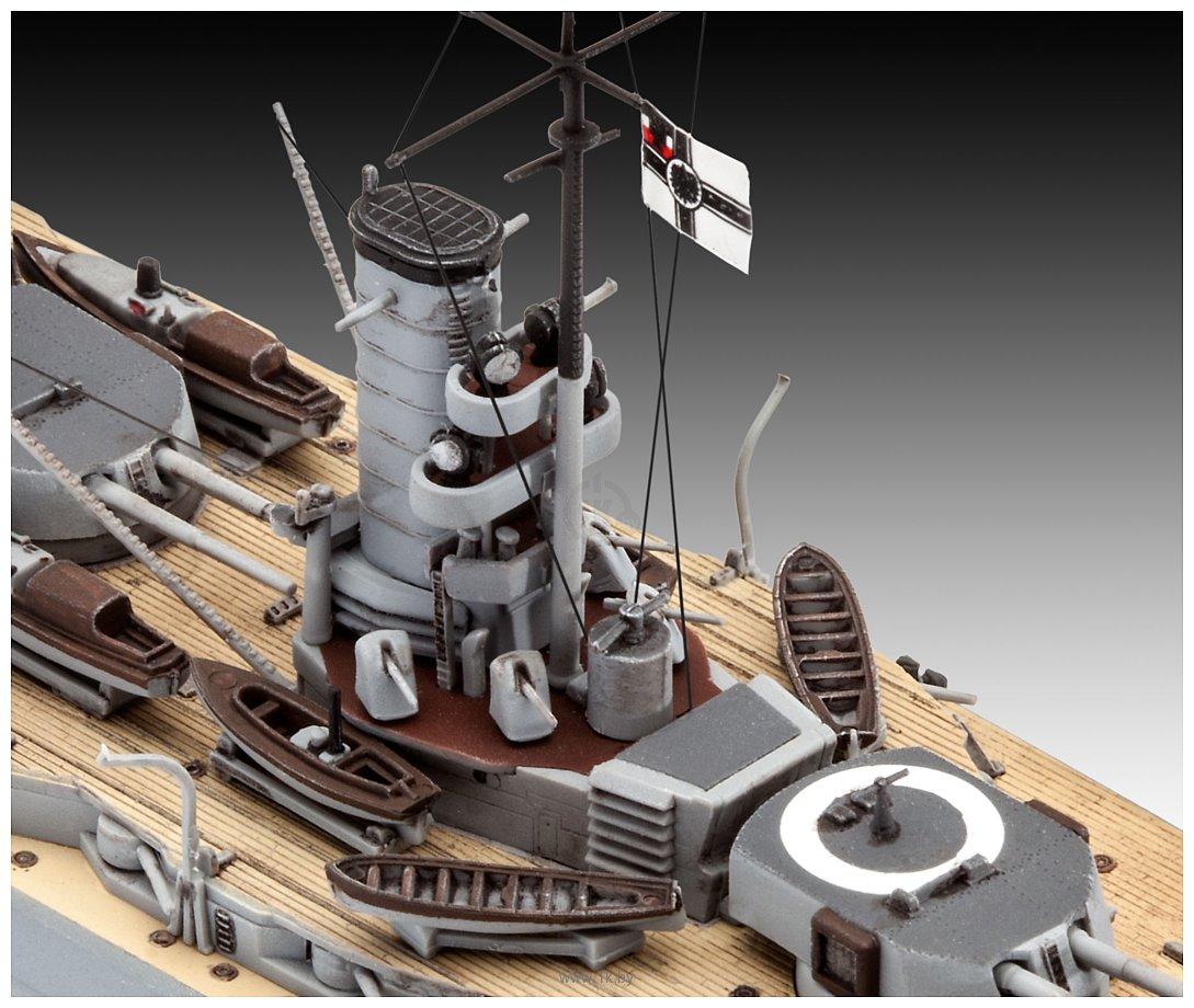 Фотографии Revell 05157 Немецкий линкор WWI Battleship SMS Koenig
