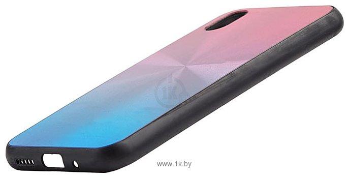 Фотографии EXPERTS SHINY TPU CASE для Huawei Y5 (2019)/Honor 8S (сине-розовый)
