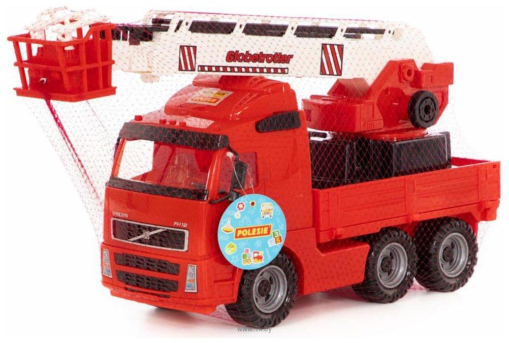 Фотографии Полесье Volvo автомобиль пожарный 8787
