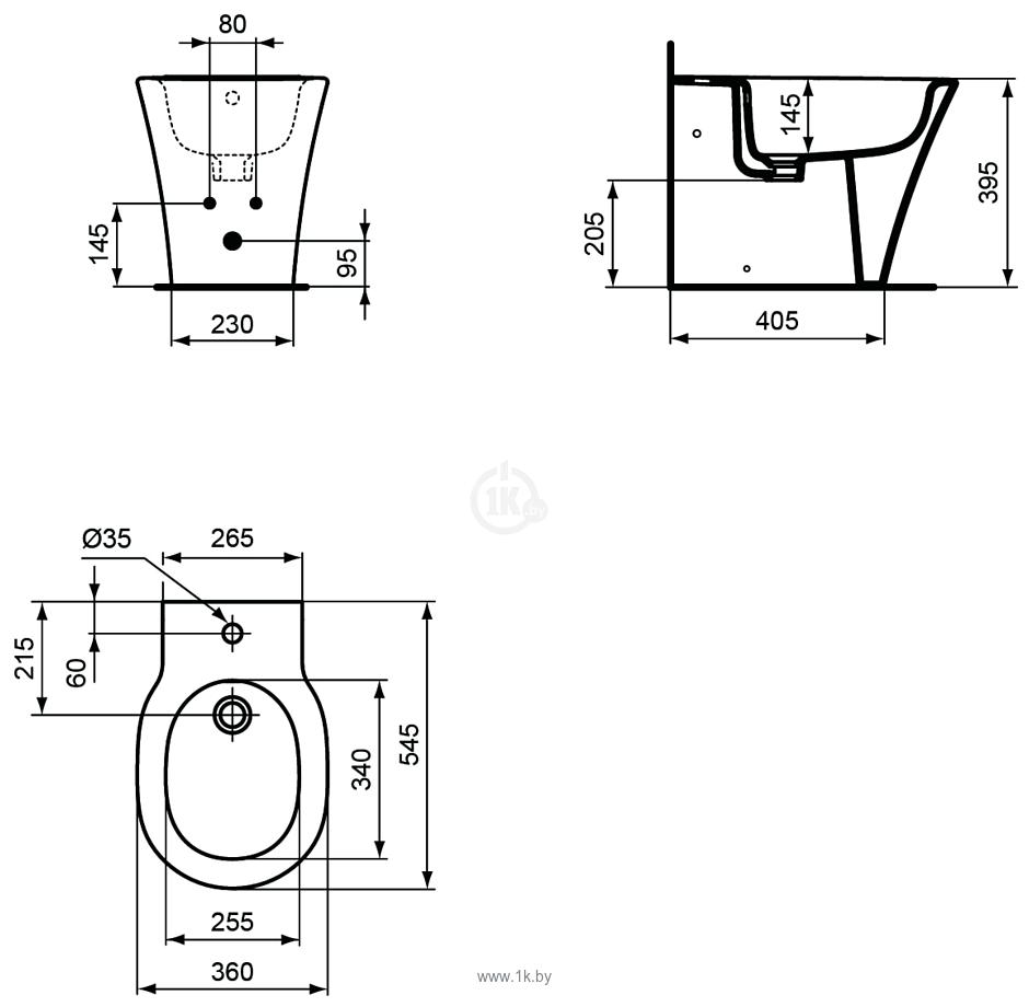 Фотографии Ideal Standard Connect Air E018001