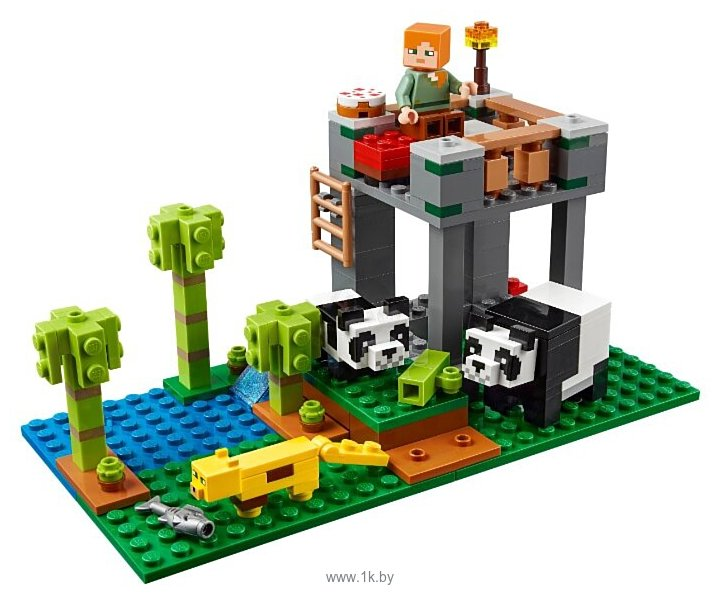 Фотографии LEGO Minecraft 21158 Питомник панд