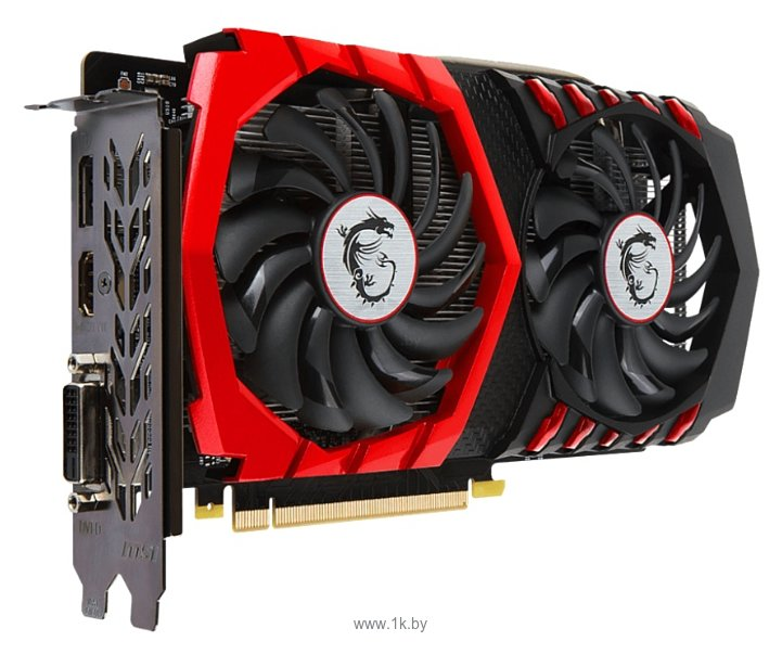 Фотографии MSI GeForce GTX 1050 Ti GAMING X