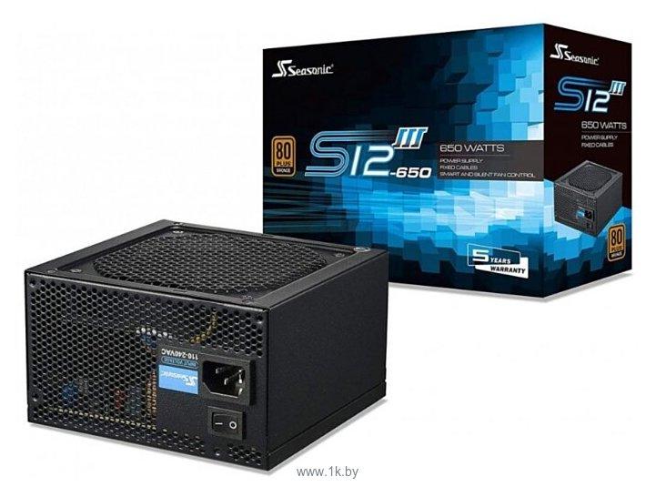 Фотографии Seasonic S12III 650W (SSR-650GB3)
