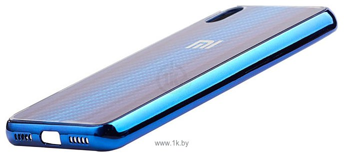 Фотографии EXPERTS Aurora Glass для Xiaomi Redmi 7A с LOGO (синий)