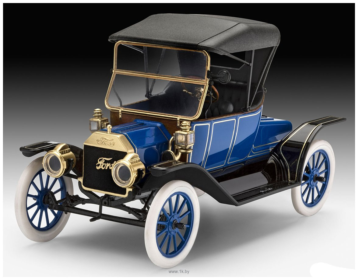 Фотографии Revell 07661 Автомобиль Ford T Modell Roadster (1913)