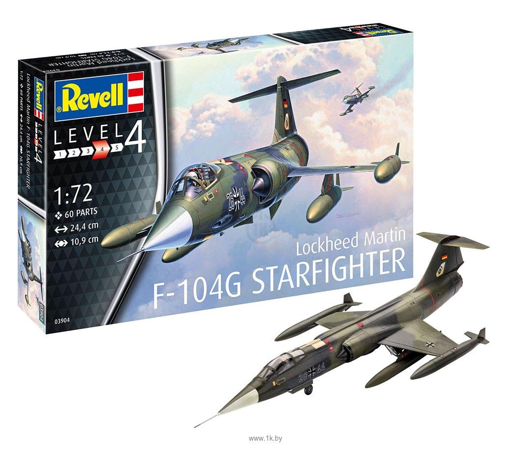 Фотографии Revell 03904 Истребитель F-104G Starfighter