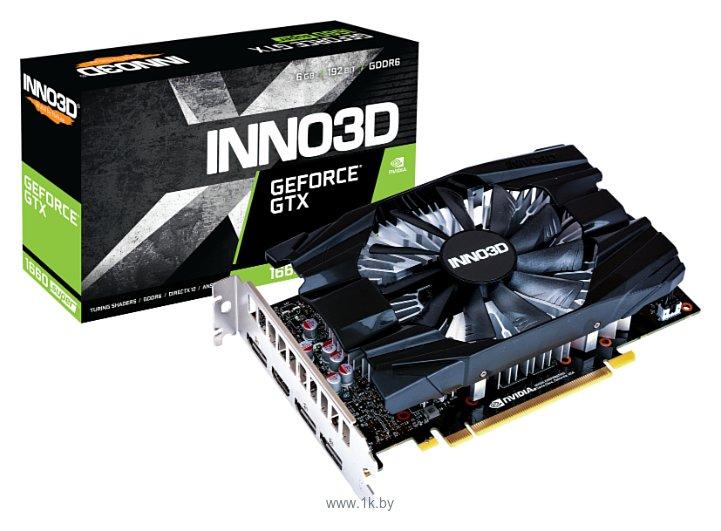 Фотографии INNO3D GeForce GTX 1660 SUPER 1785MHz PCI-E 3.0 6144MB 14000MHz 192 bit HDMI 3xDisplayPort HDCP Compact