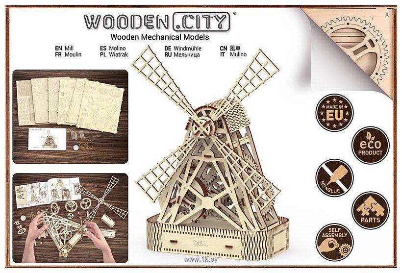 Фотографии Wooden City Мельница 307