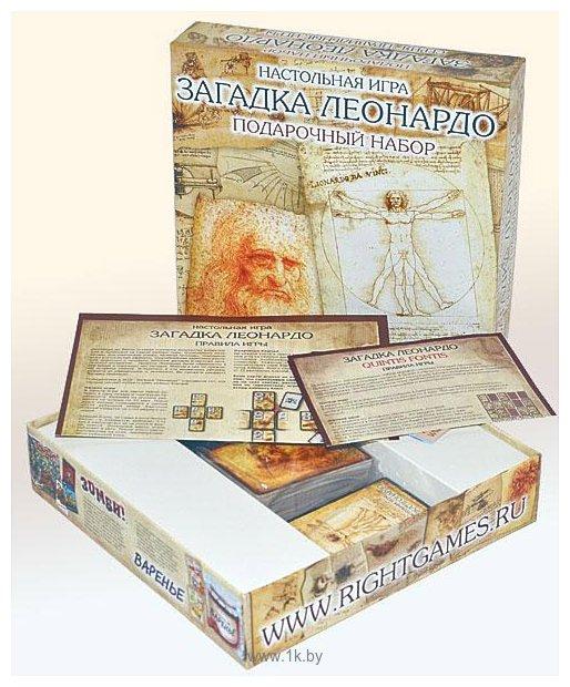 Фотографии Правильные игры Загадка Леонардо Подарочный набор