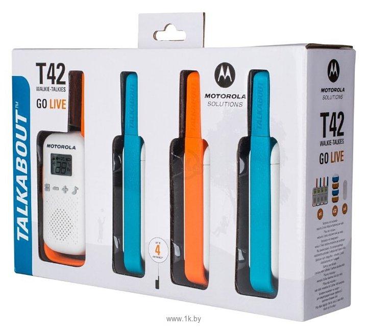 Фотографии Motorola Talkabout T42 Quad
