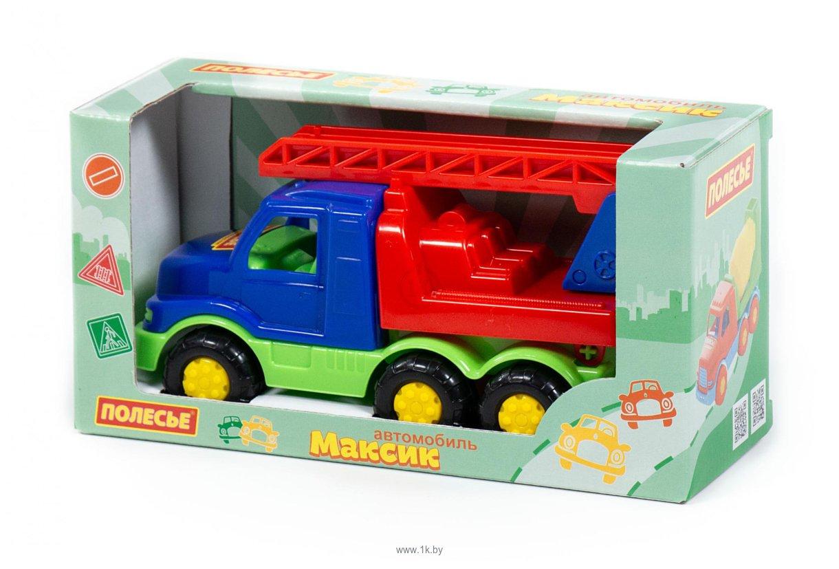 Фотографии Полесье Максик автомобиль-пожарная спецмашина 68323