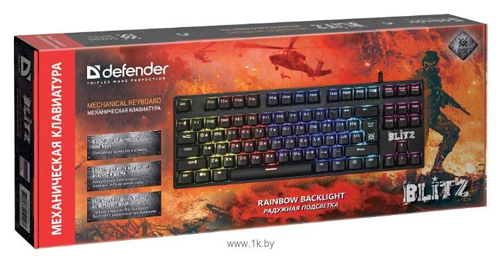 Фотографии Defender Blitz GK-240L RU Rainbow Black USB