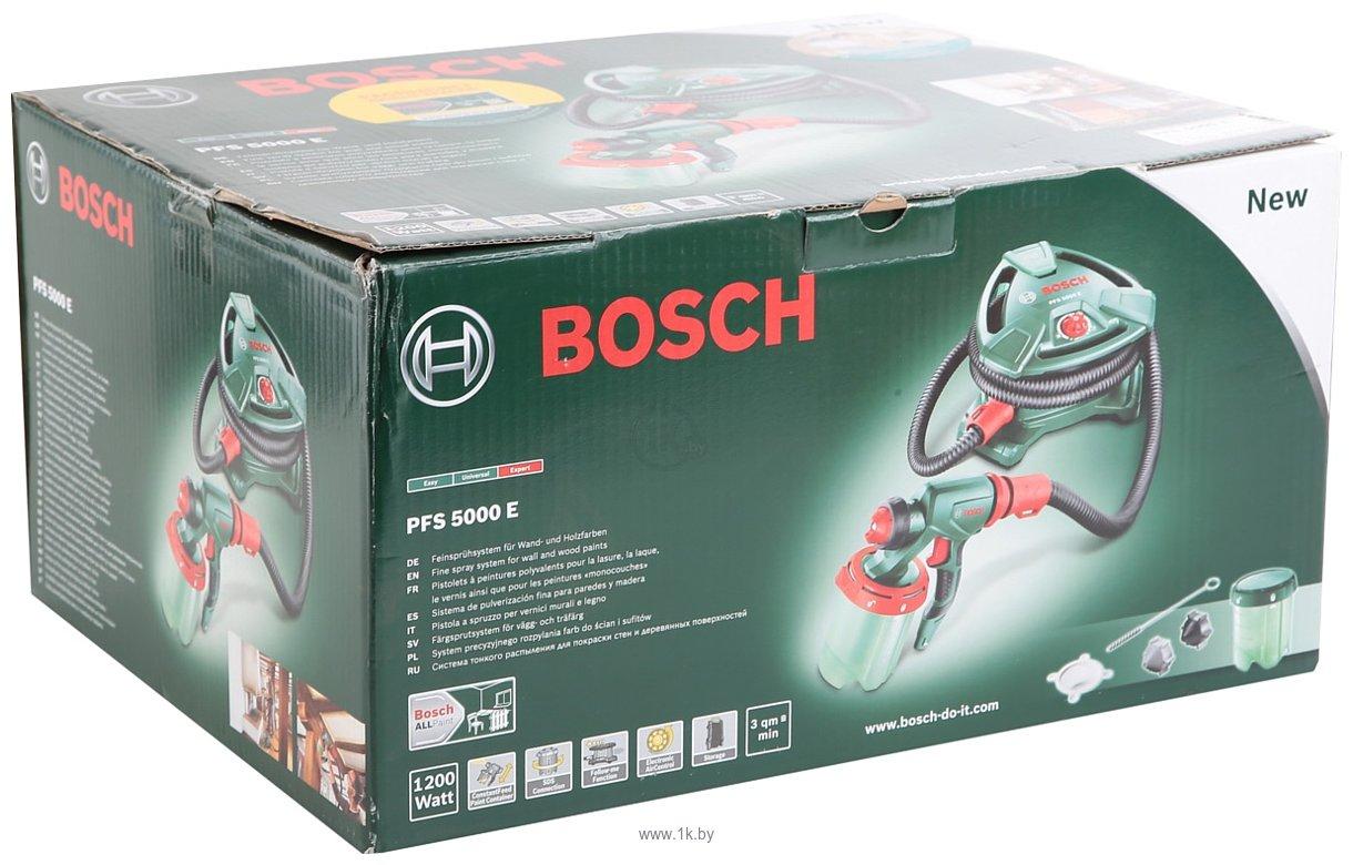 Фотографии Bosch PFS 5000 E (0603207200)