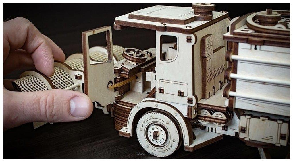 Фотографии Eco-Wood-Art Снегоуборочная машина