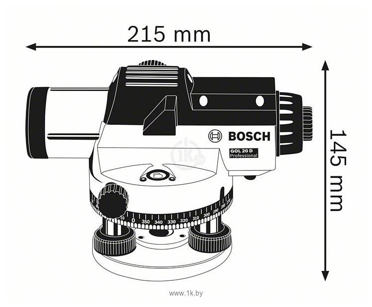 Фотографии Bosch GOL 26 D Kit (0601068002)