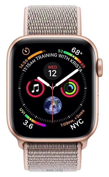 Фотографии Apple Watch Series 4 GPS + Cellular 44mm Aluminum Case with Sport Loop