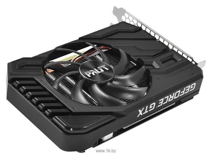 Фотографии Palit GeForce GTX 1660 1530MHz PCI-E 3.0 6144MB 8000MHz 192 bit DVI HDMI HDCP StormX OC