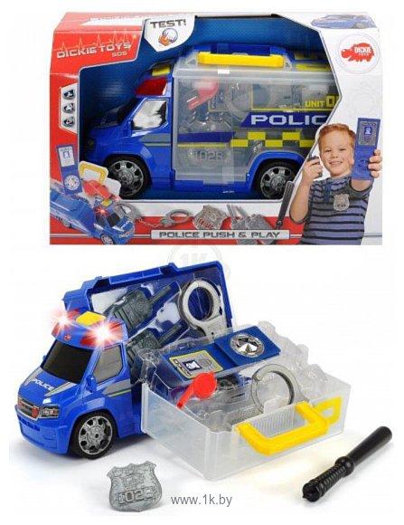 Фотографии DICKIE Полицейская машина с аксессуарами 20 371 6005