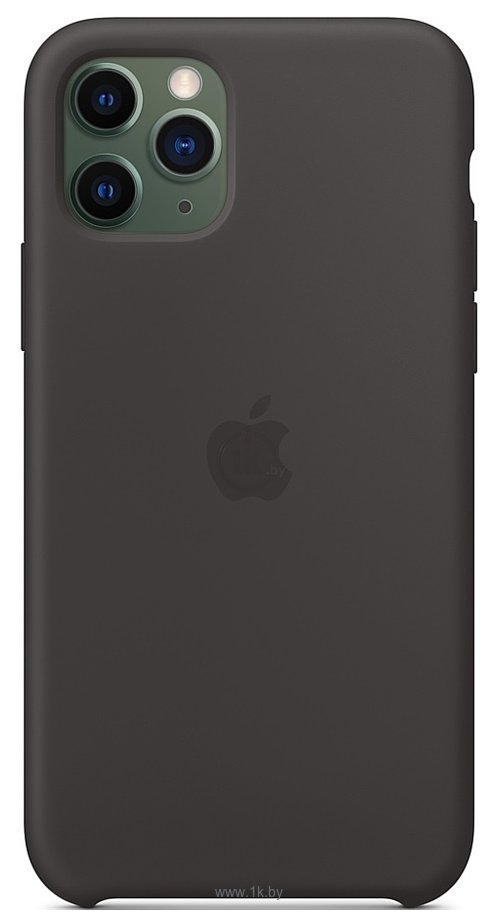 Фотографии Apple Silicone Case для iPhone 11 Pro Max (черный)