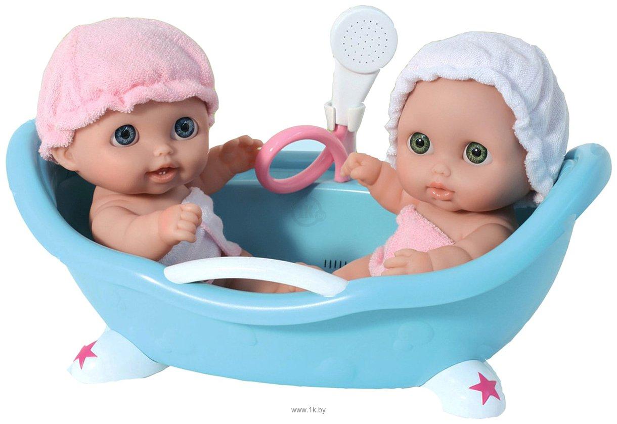 Фотографии JC Toys Lil' Cutsies Twin Dolls in Bath (16980)