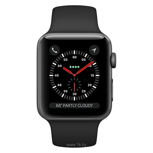 Фотографии Apple Watch Series 3 Cellular 38mm Aluminum Case with Sport Band