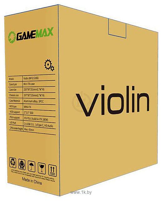 Фотографии GameMax Violin S106 (черный)