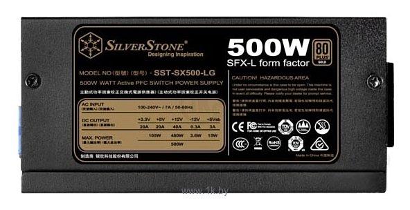 Фотографии SilverStone SST-SX500-LG 500W