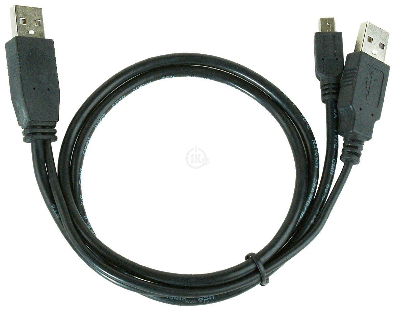 Фотографии 2 USB 2.0 тип A - mini-USB 2.0 тип B 0.5 м