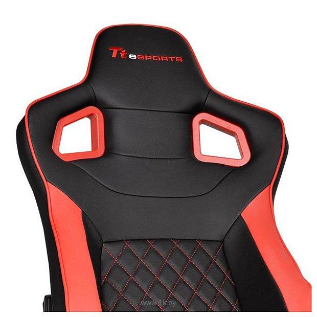 Фотографии TteSports GT Fit F100 (черный/красный) (GC-GTF-BRMFDL-01)