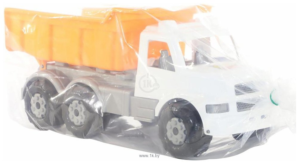 Фотографии Полесье Буран автомобиль дорожный (бело-оранжевый) 43689