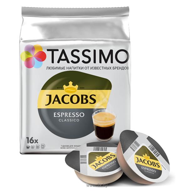 Фотографии Tassimo Jacobs Espresso Classico 16 шт