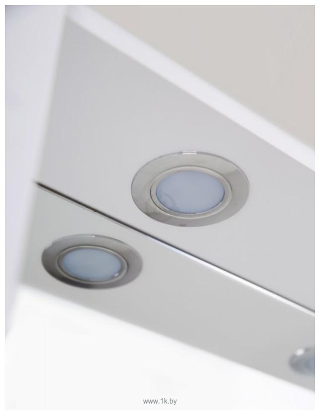 Фотографии BelBagno Шкаф с зеркалом Marino-SPC-1000/750-2A-BL-P (bianco lucido)