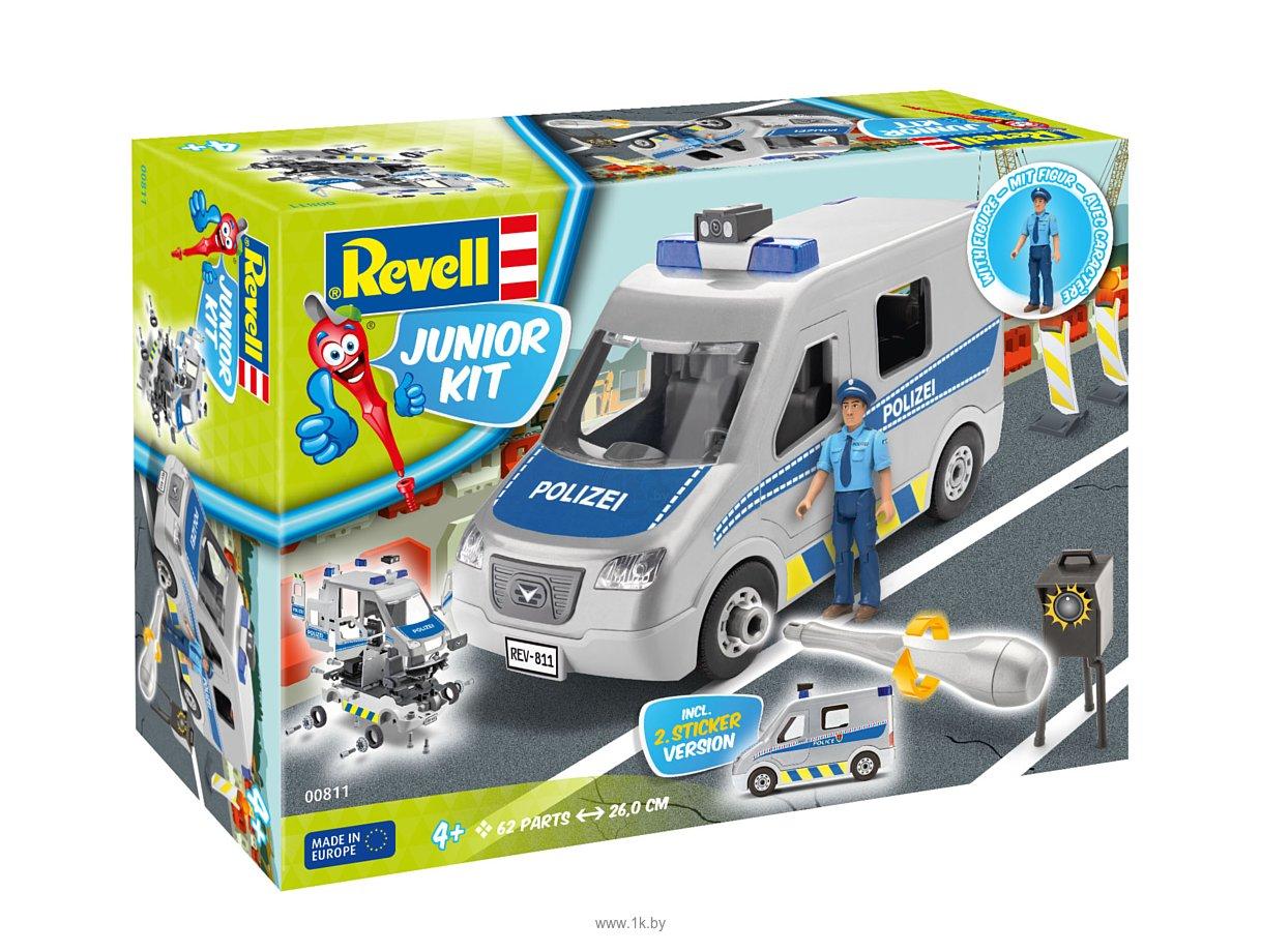 Фотографии Revell 00811 Полицейский фургон с фигуркой