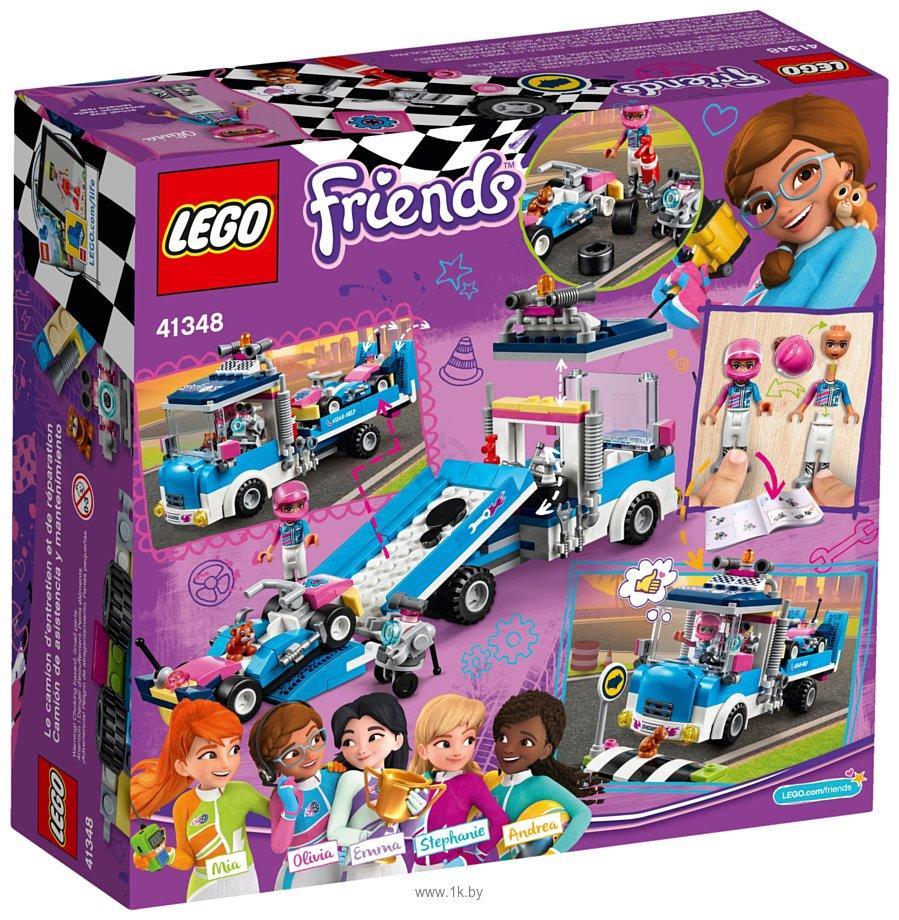 Фотографии LEGO Friends 41348 Грузовик техобслуживания