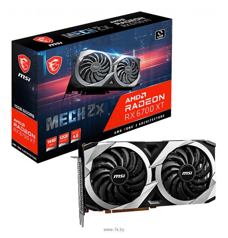 Фотографии MSI Radeon RX 6700 XT MECH 2X 12G