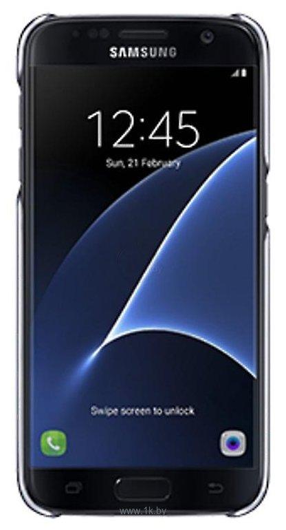 Фотографии Samsung Clear Cover для Samsung Galaxy S7 (EF-QG930CBEG)