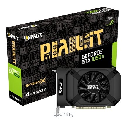 Фотографии Palit GeForce GTX 1050 Ti StormX (NE5105T018G1-1076F)