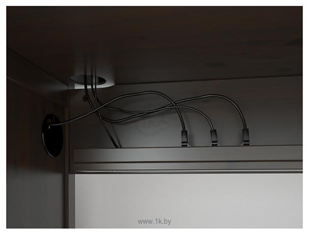 Фотографии Ikea Хемнэс (черный/коричневый) 903.847.96