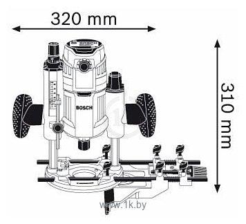 Фотографии Bosch GOF 1600 CE (0601624020)