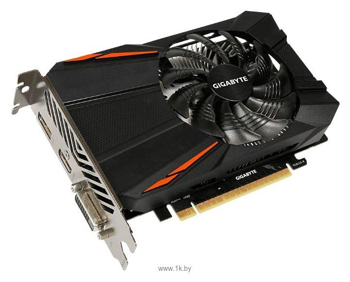 Фотографии GIGABYTE GeForce GTX 1050 1392MHz PCI-E 3.0 3072MB 7008MHz 96 bit DVI HDMI HDCP