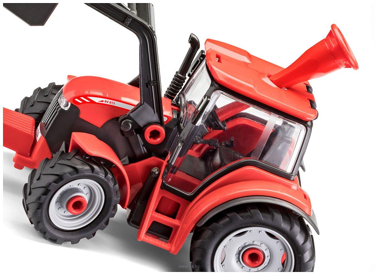 Фотографии Revell 00815 Трактор с погрузчиком и фигуркой